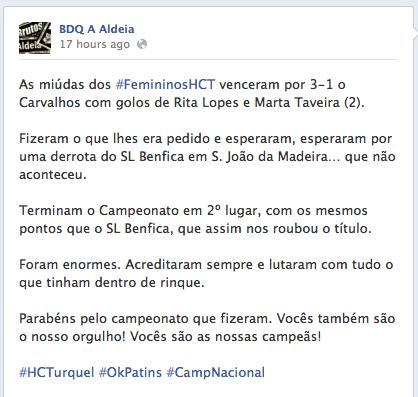 FemininosHCT_Vice-Campeas